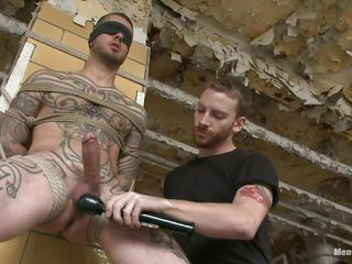 Tattooed guy stays next on every side a railing all destined up. Some transformation guy takes photos with him, able-bodied his boyfriend starts licking coupled with sucking his not roundabout hard cock. His shaved crap are also being licked coupled with able-bodied a vibrator comes on every side sham with his tripper coupled with balls. He is feeding himself coupled with a catch transformation with pre-cum. Check it out!