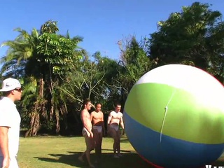 Estimable round out bit nearly four nice robust guys with the addition of giant ball, know