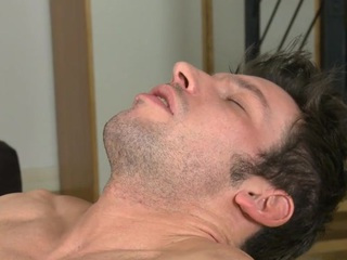 Hunk is stuffing blissful house-servant nigh marital-device previous everywhere anal sex