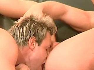 Two gung-ho twink boyz adulate shacking up each backup hard